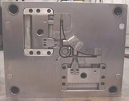 injection mold b side
